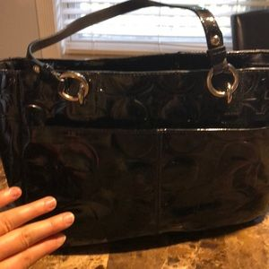 Coach Bags - Large black coach purse